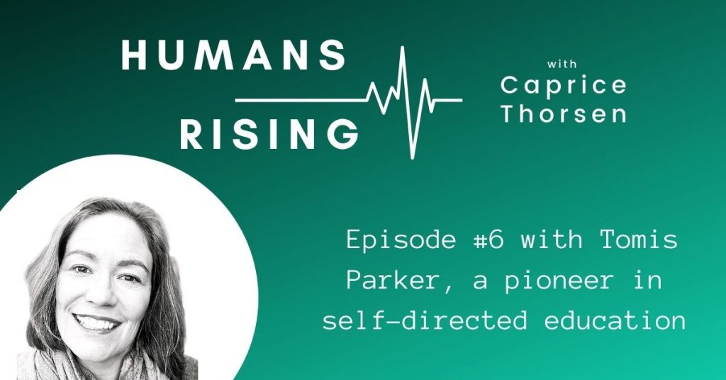 Humans RIsing with Tomis Parker